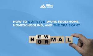 how to survive work from homeschooling and the cpa exam