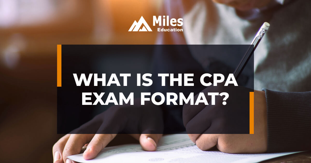 What is the CPA exam format