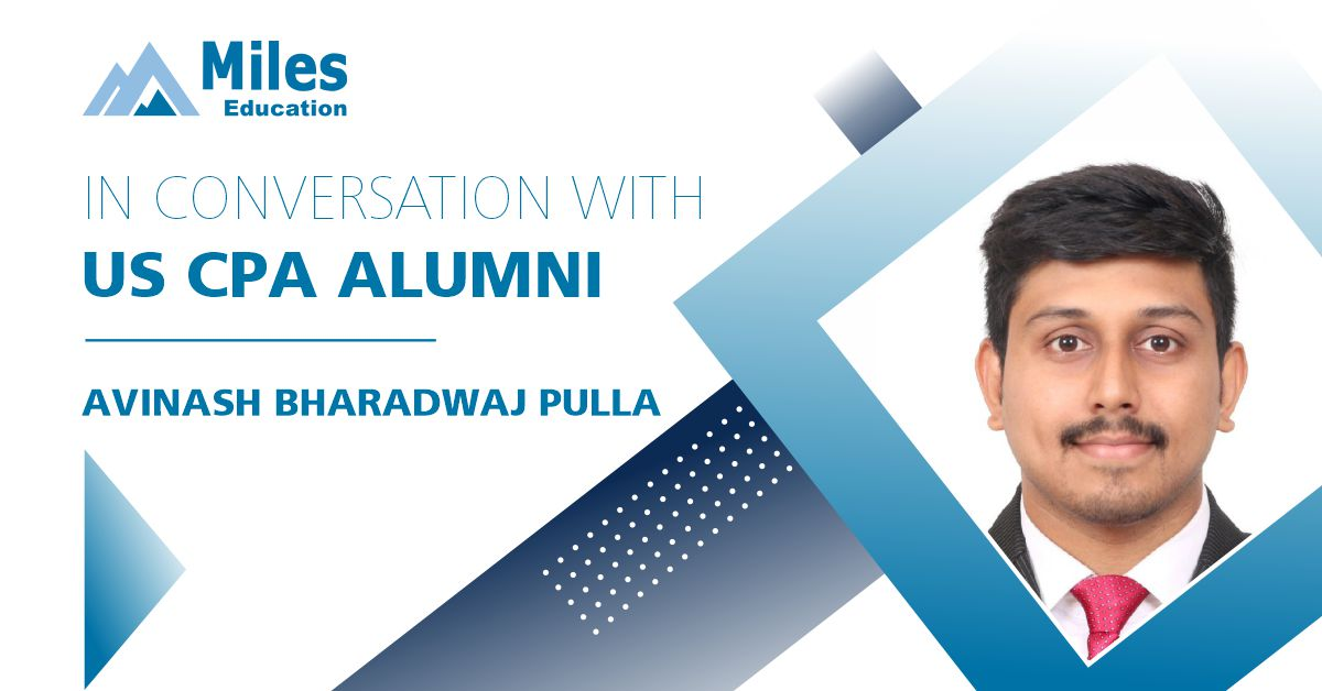 In conversation with US CPA alumni – Avinash Bharadwaj Pulla