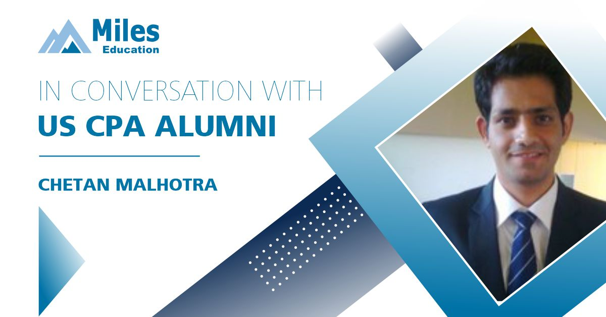 In conversation with US CPA alumni – Chetan Malhotra