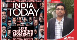 Varun Jain at 45th Anniversary Issue of India Today Magazine