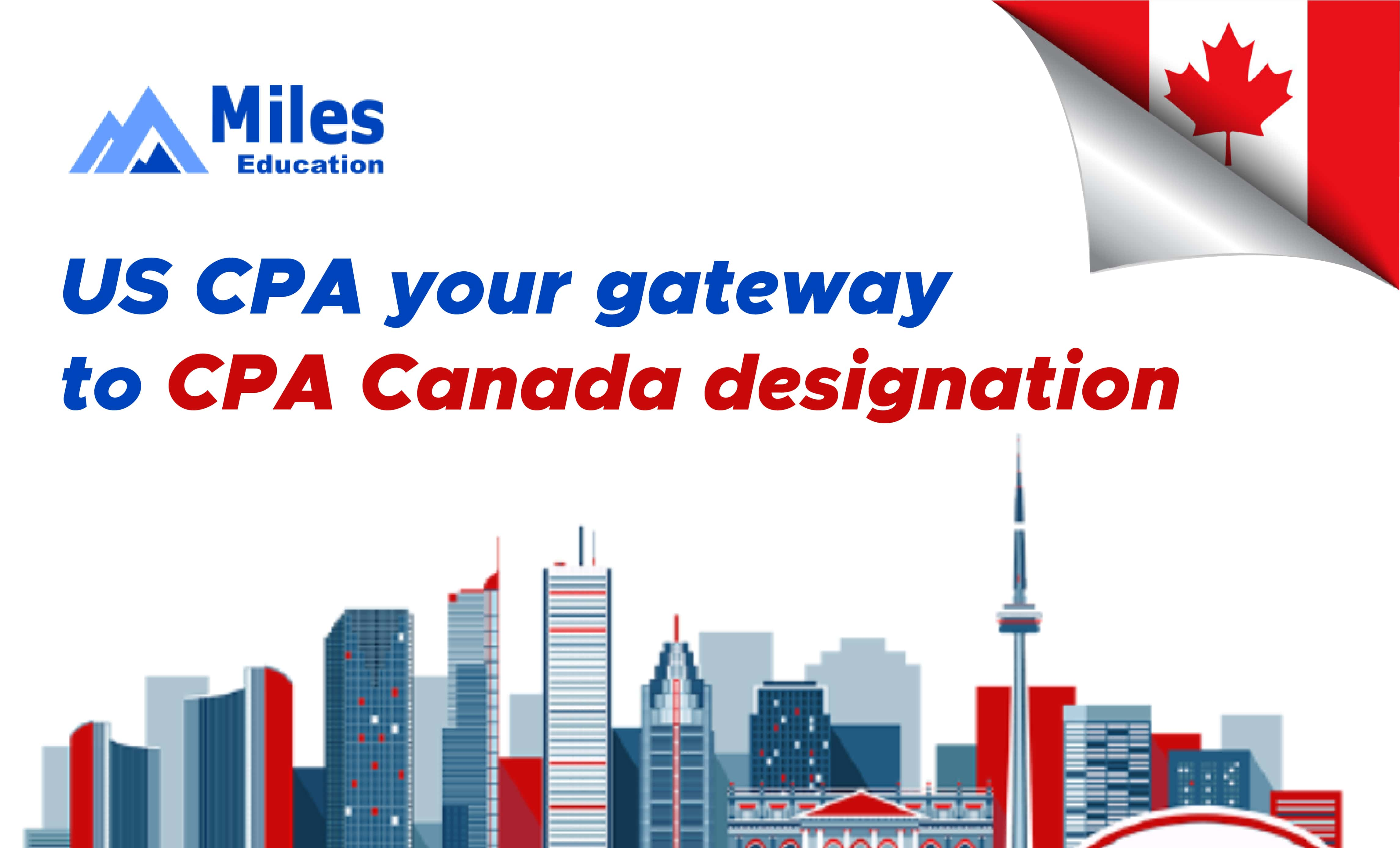 US CPA certification can get you the CPA Canada designation